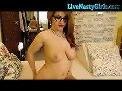 Redhead Webcam Girl With Hitachi 2