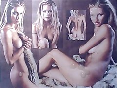 Michelle Hunziker Cum on Pics Vid 18X.wmv Compilation