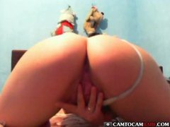 Dancing show big butt tease on free webcam