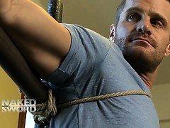 Landon Conrad Tied Up And Edged - Kink Men