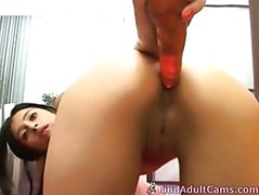 Ass and pussy played with