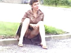 French MILF Public Nudity-Part 3