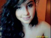 Cute teen show her nasty body on cam