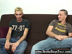 Twink video I had the two of them lie on the bed next to eac