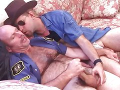 Horny Cop Fucks Hot Cowboy