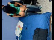 College babe caught on hidden cam