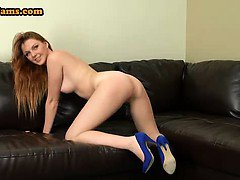 Redhead teen Mary McCary on cam