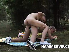 Horny twinks Dave Alis and Martin Bennett sneak off from
