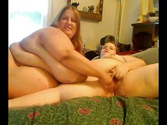 Horny Big Fat BBW Lesbians playing with each other-P2