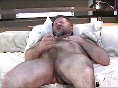 Wanking Daddy Bear 1