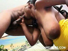 Nasty Ebony Orgasm