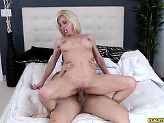 Valerie sneaks away from her husband to get some young hard