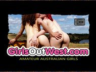 Girls Out West - Marina masturbates in the bathroom