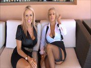 Goddess Danielle and Mistress Lucy - Heels Bigger Than Cock JOI