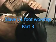 slave Worships Domme Feet Three