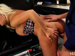 Busty blond babe Britney Amber get fucked by her doctor