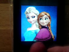 Cum Tribute to Anna and Elsa (Frozen)