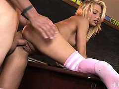 Teen slut Alyssa Branch get fucked by teacher Eric