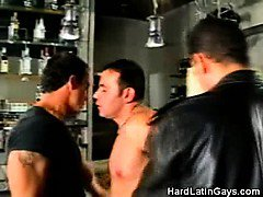 Hot Gay Latinos Making Out