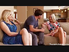 Emma Starr and Julia Ann 3some