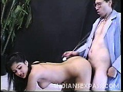 In this scene lovely babe Claudia Nyce takes intensive