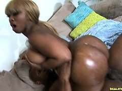 A huge ass attached to a hottie called Ms. Cherry ride some