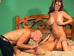 Raquel DeVine's always in for a good pussy pounding. There
