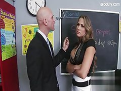 young student fuck in class room