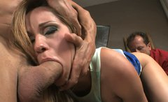Horny Irina Bruni prefers to suck a dick and get fucked at the same time