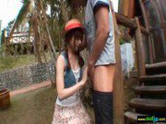 Outdoor Hardcore Sex Love Asian Sexy Girl movie-24