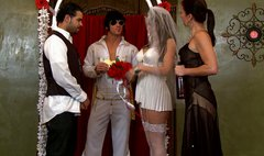 Sexy Bride got Horny during the wedding Ceremony