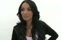 Bewitching babe Anissa Kate shows off her big juicy boobs
