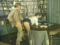 Slutty librarian Bridgette Monet gets fucked in missionary position
