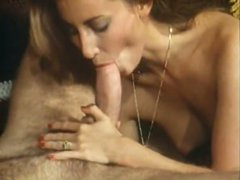 Brunette temptress gives her man the hottest blowjob of his life