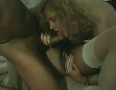 Two busty kinky wenches have awesome fuck with one massive pecker