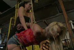 Spoiled blonde chick is punished bad in filthy BDSM porn video