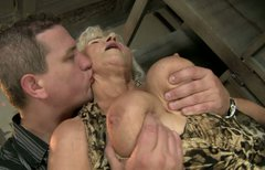 Shameless grannie gets her pussy licked and fucked hard
