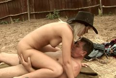 Divine cowgirl rides fat horny daddy reverse cowgirl style