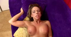 Busty harlot Brianna Beach gets fucked in missionary position