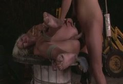 Daring blonde bitch loves fucking in hardcore BDSM porn scene