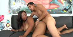 Ebony hot nympho with huge ass thirsts to get her quim polished from behind