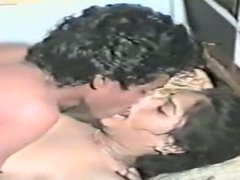 Interesting retro homemade sex video of one horny Indian couple
