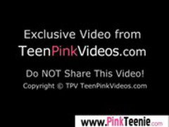 Pink Teen Pussy Girl Get Fucked Hard movie-31