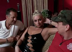 Spoiled guy Ilja from Romania pays a slut to have sex with horny blond whore