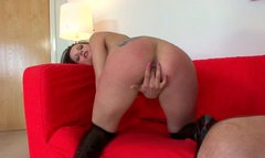 Hot tempered Valentina Cruz rides dick and gets doggy drilled