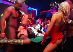 Casino orgy party with gorgeous hotties