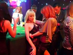 Hot casino party is about to turn into an orgy party