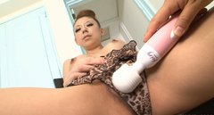 A bit weird but hot Asian slut Ryuu Narushima gets pleased with sex toys