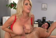 Buxom porn diva Penny Porsche is having extremely passionate sex