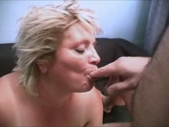 Horny granny Sussana is screwed bad in a missionary position